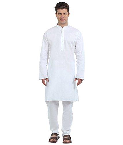 AMG Men's Cotton Kurta with Pajama (AMG-1107-42)