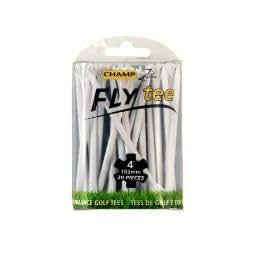 "Champ Flytees 4"" Golf Tees 20 Ct White"