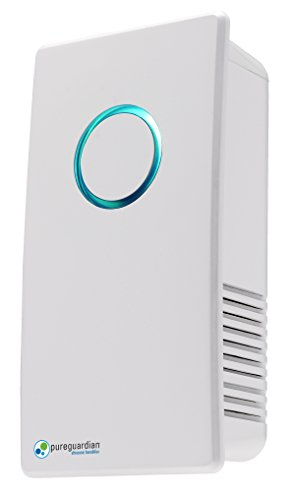 Guardian Technologies GermGuardian GG1100W Elite Pluggable UV-C Air Sanitizer and Deodorizer, White