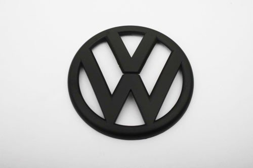 Euro Style Matte Black Rear Trunk Emblem For VW Golf MK6 1.4T 2.0T GTI TDI (Vw Emblem Jetta Mk6 compare prices)