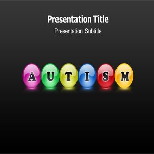 cheap office software autism powerpoint ppt templates autism