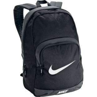 Nike Anthracite Backpack - Black, With an abundance of storage space, ideal for books, stationery lunch and other essentials this black Nike Anthracite backpack is great for back to school.