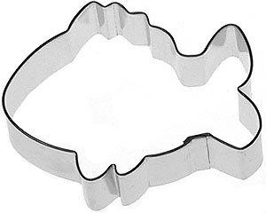 TROPICAL FISH Cookie Cutter 3.75 IN. B1702