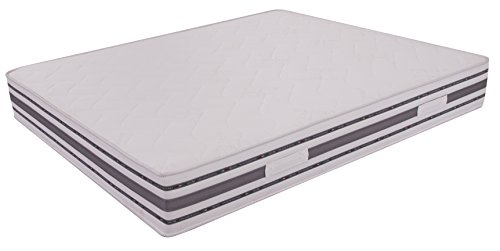 Materasso Top matrimoniale 160x190 memory + waterfoam alto 25 cm rivestimento Bayscent MiaSuite