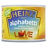 Heinz Alphabetti Pasta Shapes 200G
