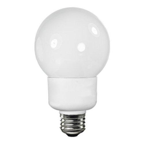 Tcp 4G2515Td65K Cfl Trudim G25 - 60 Watt Equivalent (15W) Full Spectrum Daylight (6500K) Dimmable Decorative Globe Light Bulb