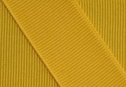Grosgrain Ribbon 5/8 Inch 10 Yards Yellow Gold