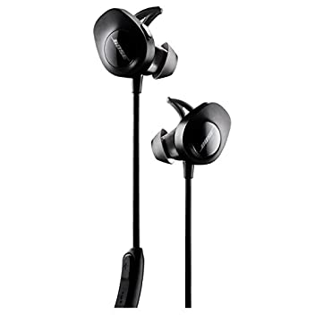 With no wires in the way, Bose Sound Sport wireless headphones keep you moving with powerful audio and Stay Hear+ tips designed for comfort and stability. A soft silicone material and unique shape provide a secure fit that stays put and feels good. C...