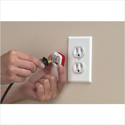 Shock Shield Electrical Cord Clips by Kidco