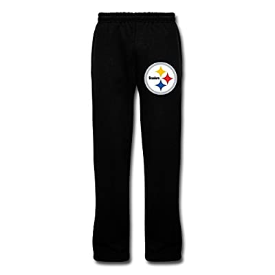 VAVD Boyfriend Pittsburgh Steelers 100% Cotton Sweat Pants