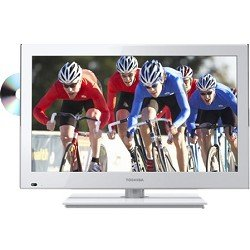 Toshiba 24-Inch 1080p 60Hz LED DVD Combo (White)