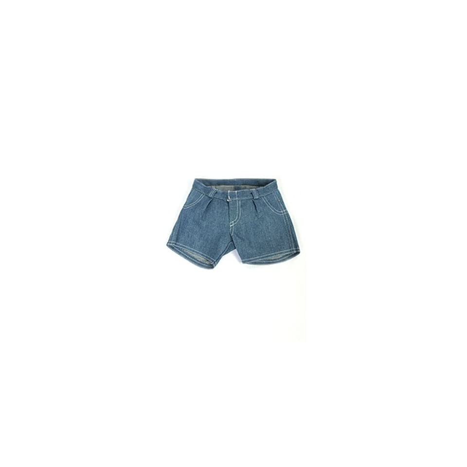 Blue Jean Shorts Teddy Bear Clothes Fit 14   18 Build a