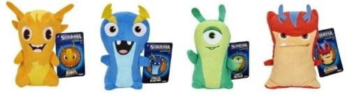 SLUGTERRA Complete set of 4 plush 6 inch, NEW by Jakks Pacific