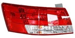 TYC 11-6190-00 Hyundai Sonata Driver Side Replacement Tail Light Assembly