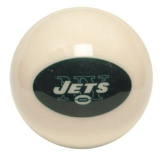 NFL New York Jets WHITE Home Color Billiard Pool Cue Ball at Amazon.com
