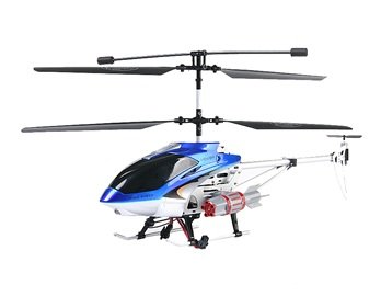 SENXIANG S01 3.5-Channel R/C Helicopter with Gyroscope (Blue)