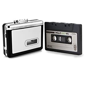 Tape to PC USB Cassette-to-MP3 Converter Capture Adapter Audio Music Player