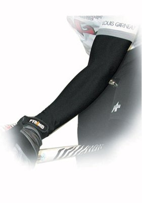 Buy Low Price Pace P3+ PolyPro Cycling Arm Warmer (Black, Medium) (02-2505-2)
