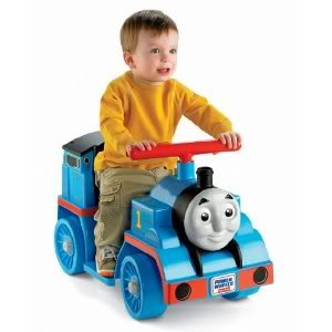 Toy / Game Power Wheels Thomas & Friends Thomas The Tank Engine W/ Toddlers, Easy Push-Button Operation & More