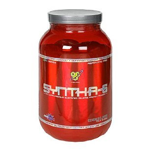 BSN Syntha-6 Protein Powder Chocolate Milkshake 2.91 Pounds Fortified with Bcaas (For Nitrogen Balance), Glutamine Peptides (Recovery, Immune System), Mcts (Fast Energy) and Fiber Dietary Supplement Intended for Reaching Nutritional and Physique Goals