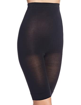 Berkshire Women's Curves To The Waist Shaper Without Hose 8049, Black, 1-2