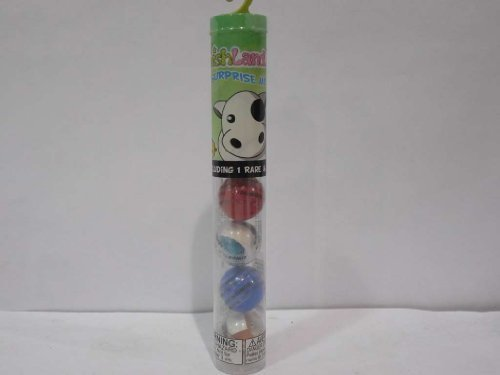 SqwishLand Capsule 6 piece Surprise Mix Tube Toy - Colors May Vary - 1