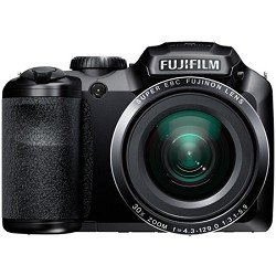 Fujifilm FinePix S6800 16MP Digital Camera with 30x Optical Zoom and 3-Inch LCD (Black)