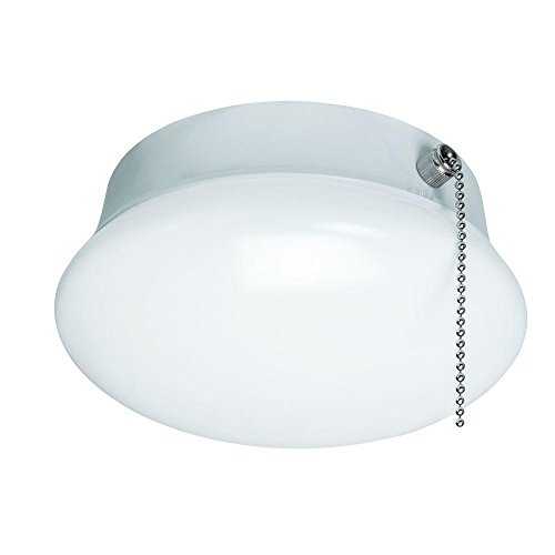 7 In. Bright White LED Ceiling Round Flushmount Easy Light with Pull Chain (Commercial Ceiling Light Fixtures compare prices)