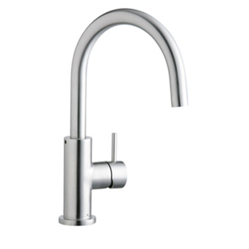 Cheap Elkay Lk7921sss Allure Stainless Kitchen Faucet Satin Stainless Steel Shopping