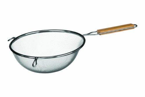 Premier-Housewares-Colador-con-asa-de-madera-acero-inoxidable