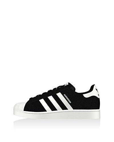 adidas Sneaker Superstar Mesh schwarz/weiß