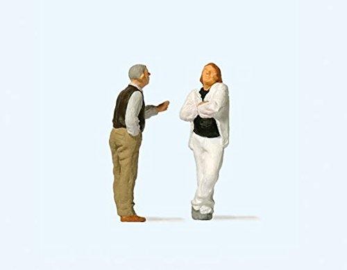 Couple Arguing HO Scale Preiser