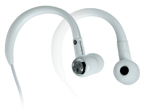 Monoprice 109958 In-Ear Sport Earphones For Cellphones - Retail Packaging - White