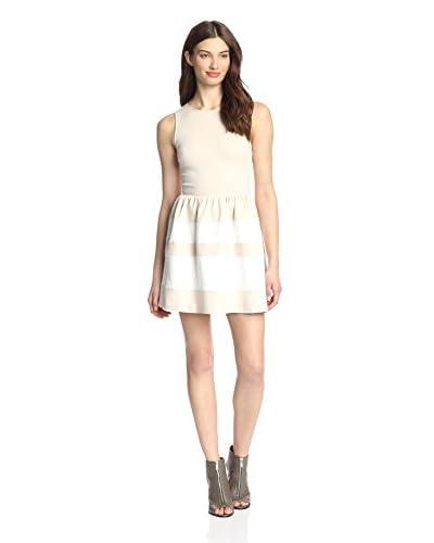 Love…Ady Women's Dress with Striped Skirt