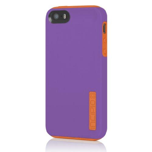 Incipio Dualpro Case For Iphone 5S - Retail Packaging - Purple/Orange