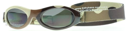 Baby Banz Camo Brown Adventure Wrap Sunglasses Size Baby