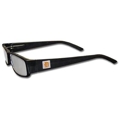 MLB Black Reading Glasses, +1.75, Detroit Tigers