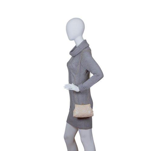Carlo Fellini - Adriana Evening Bag (61 2210) (Bronze)