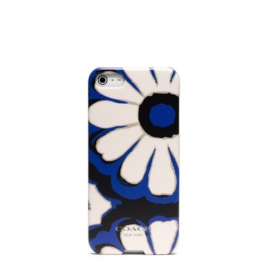 Special Sale Authentic iPhone 5 Floral Scarf Coach Hard Cover Case