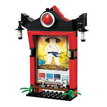 LEGO Ninjago Card Shrine, Item # 2856134 Scrinium Shrine Sensei Wu Bagged - 1
