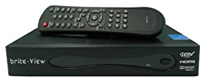 brite-View BV-980H Digital HD DVR (for Antenna and clear QAM use) ,with 320GB HDD Built-in, EPG Supported,Time Shifting - Black