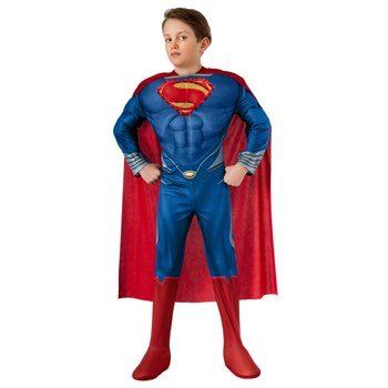 Superman-Man of Steel-Deluxe Lightup Superman Child Costume