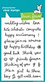 Sophie's Sentiments Clear Stamp Set (Lawn Fawn)