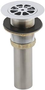 KOHLER K-9115-CP Sink Strainer, Polished Chrome