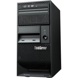 Lenovo ThinkServer TS140 70A4001LUX 5U Tower Server (3.2 GHz Intel Xeon E3-1225 v3 Processor, 4 GB ECC RAM, No HDD, DVD-ROM, No OS) Black