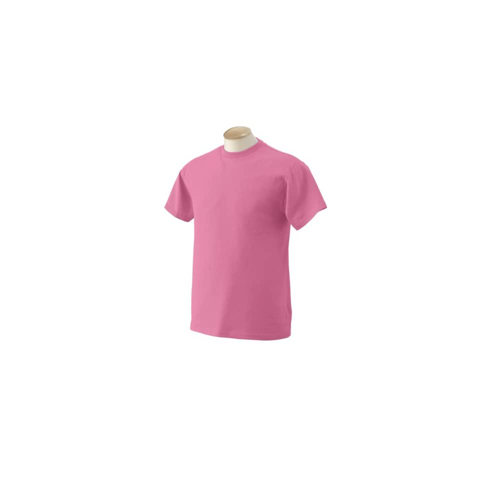 Fruit of the Loom   5.6 oz. Heavy Cotton T Shirt  M,AZALEA [Apparel] [Apparel]