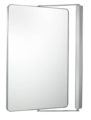 Aptations 33041 Sergena Metro Pivot Mirror, Chrome back-1012113
