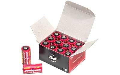 Surefire Sf12-Bb Box Of 12 123A 3 Volt Lithium Batteries Sf123A