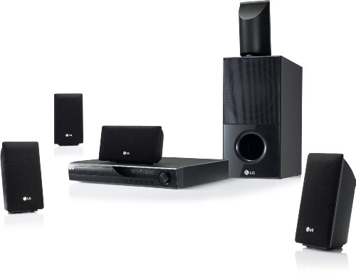 LG 5.1 ch HT805SH Home Cinema System (HDMI, 850 Watt, USB 2.0)