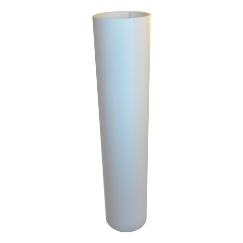 Vinyl Oasis Craft & Hobby Vinyl - Matte White W/ Removable Adhesive - 12 In. X 10 Ft. Roll front-728408